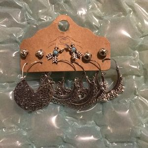 Finetoo Jewelry - 6 Pairs Vintage Earrings